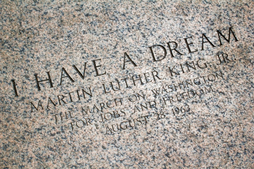 I Have A Dream - Martin Luther King Jr. am Lincoln Memorial