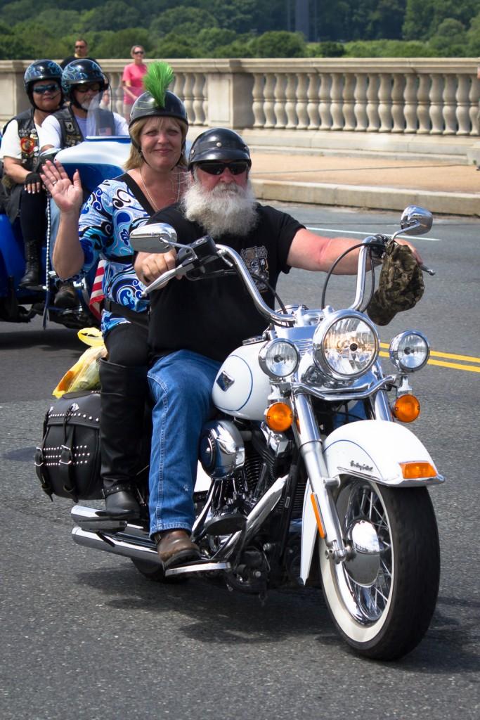 Harley Davidson Fahrt