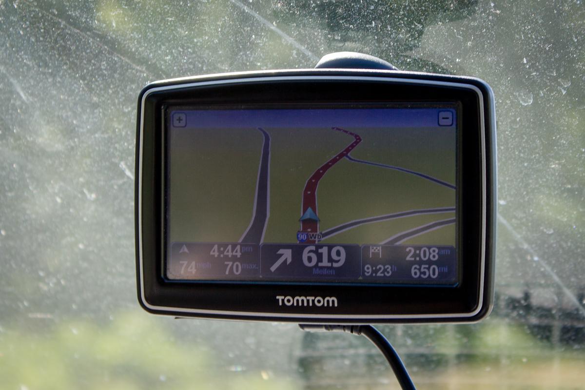 In 619 Meilen bitte rechts abbiegen...