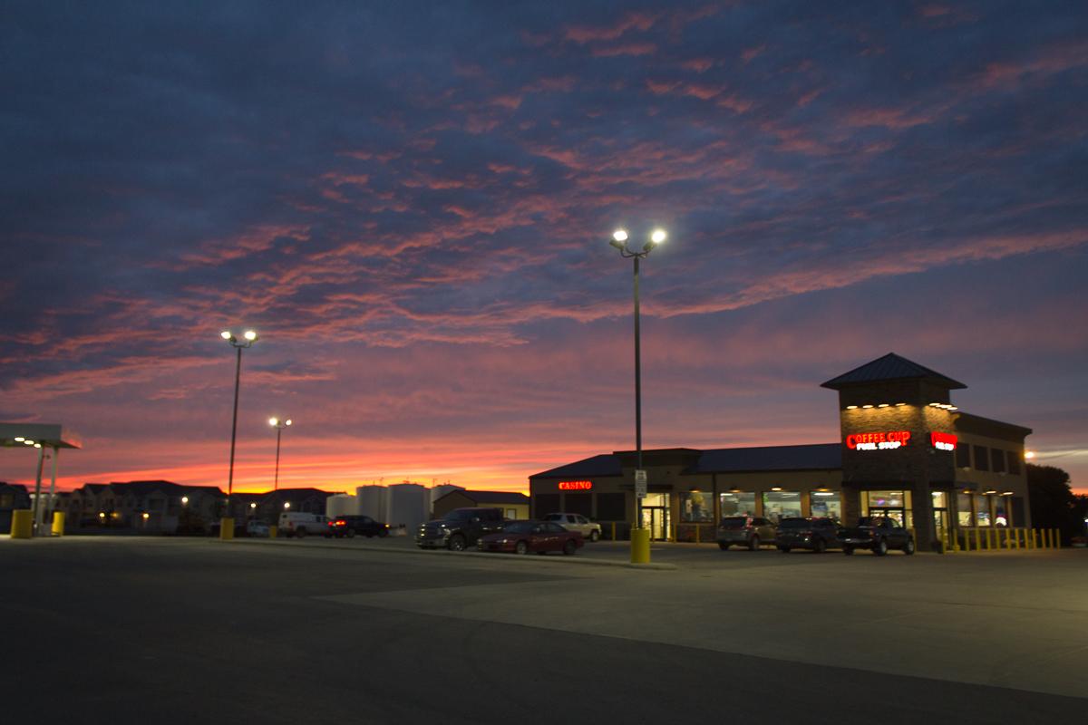 Sonnenuntergang South Dakota