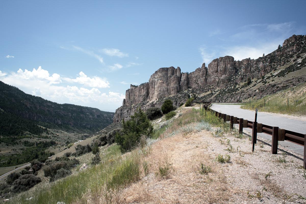 Canyon vor Yellowstone