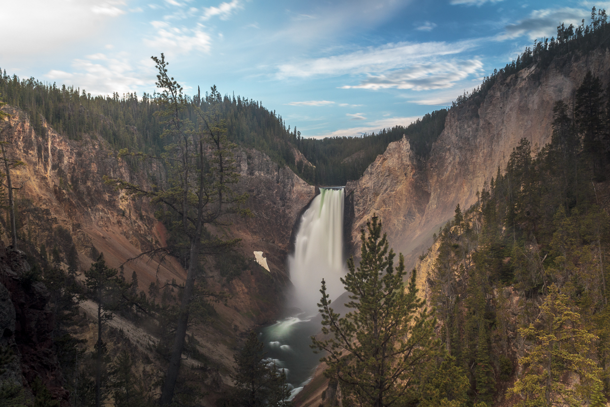 Lower Falls Yellowstone